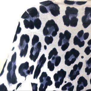 J. Crew Sweaters - J Crew Leopard Print Cardigan